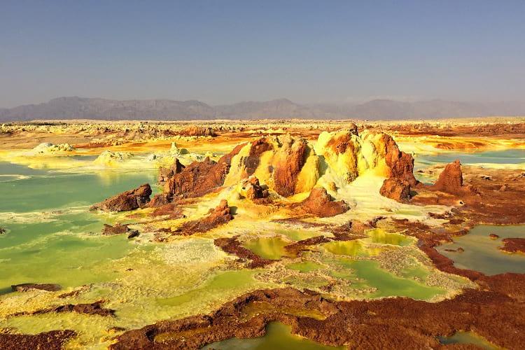 Dallol crater