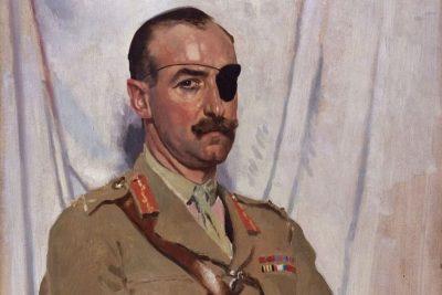 Painting of Sir Adrian Carton.