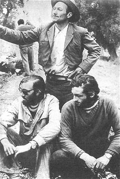 Andes Plane Crash: Roberto and Parrado after being discovered in Chile.