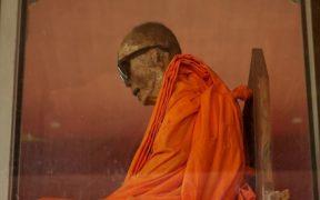 Loung Pordaeng, the mummified monk.