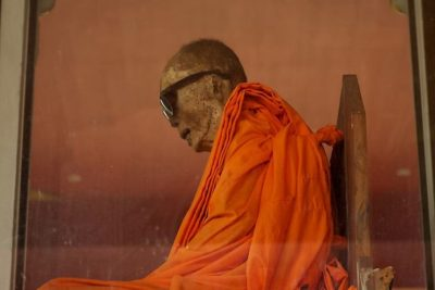 Loung Pordaeng, the mummified monk.