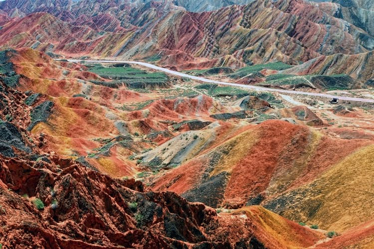 Danxia Landform: Zhangye National Geopark