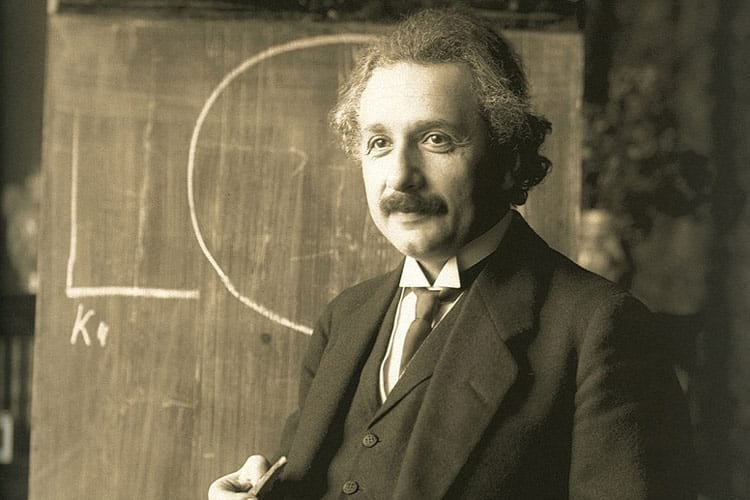 Elbert Einstein in 1921.