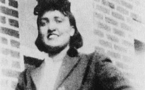 Photo of Henrietta Lacks.