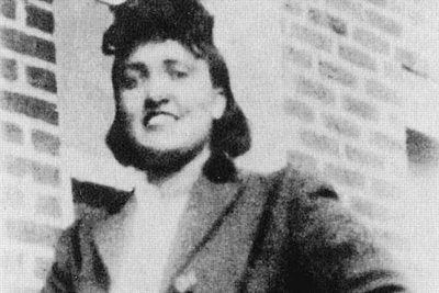 Photo of Henrietta Lacks.