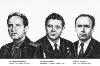 Soyuz 11 crew.