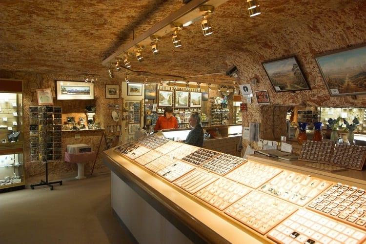 Coober Pedy: An underground Jewellery shop
