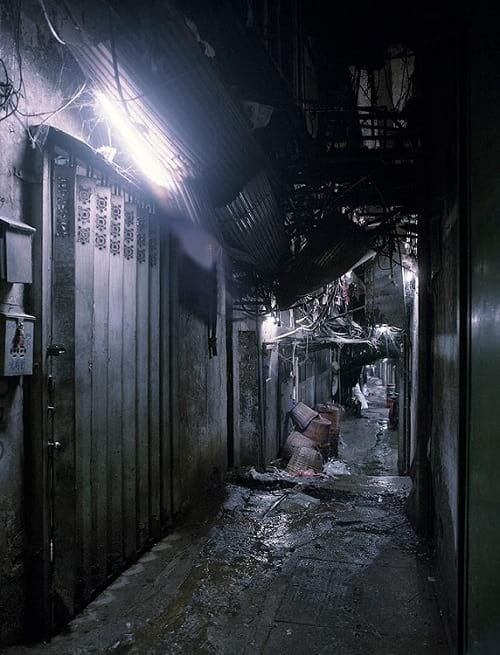 Passageway in Kowloon Walled City
