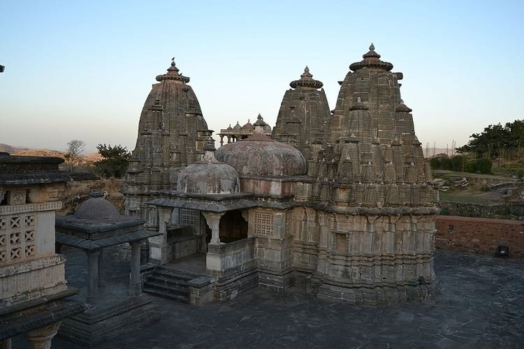 One of the temple inside the Kumbhalgarh Fort