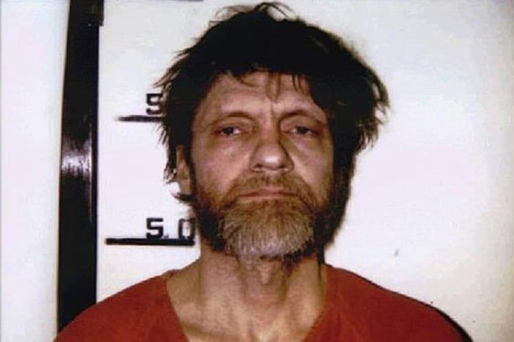 Mugshot of Ted Kaczynski