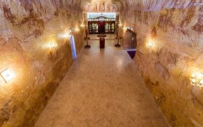 Underground Serbian church