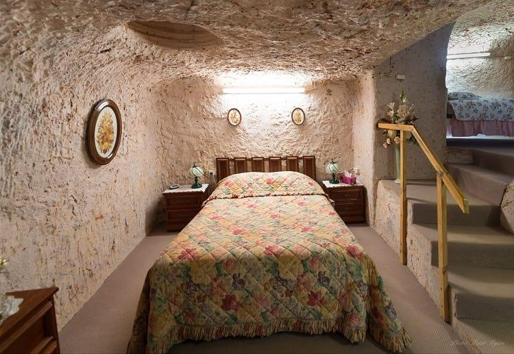An underground room in Coober Pedy