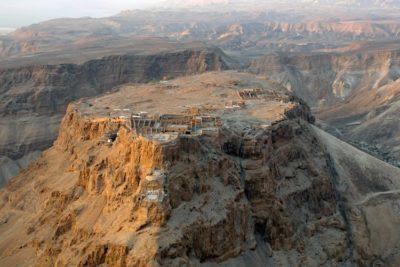 Masada, an ancient fortification