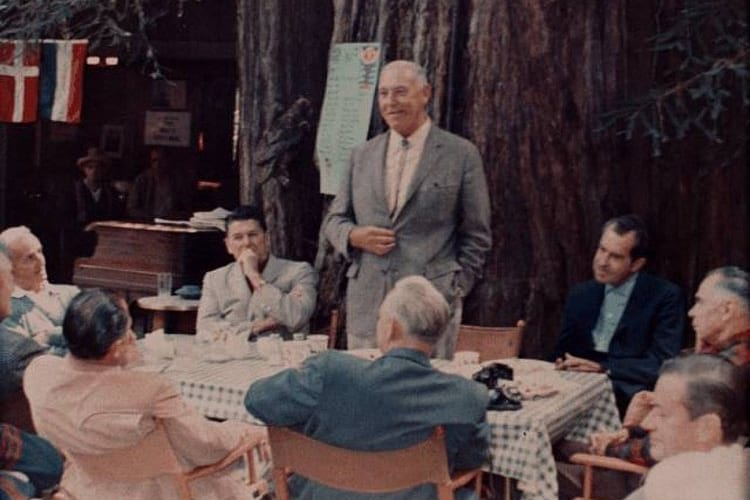 Bohemian grove meeting, 1967