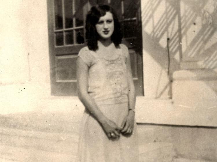 Elena Milagro Hoyos in 1926.