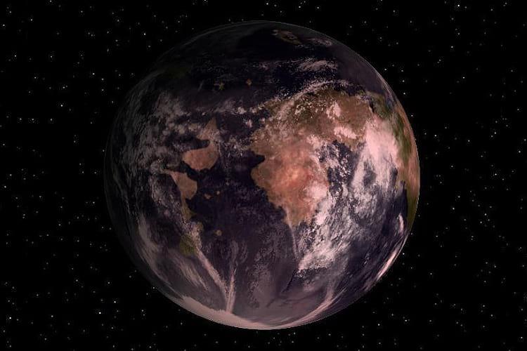 Gliese 581g: Artistic rendering of Gliese 581c
