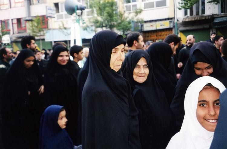 Women in processions during Muharram