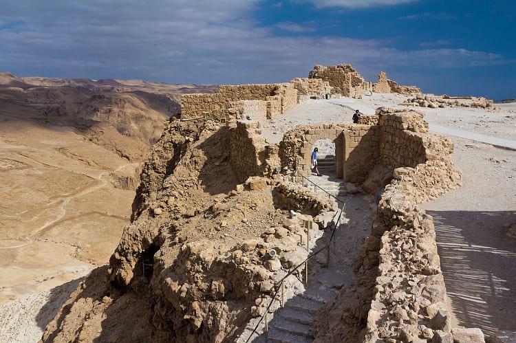 Masada fortress.