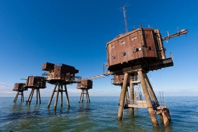 Abandoned Maunsell forts