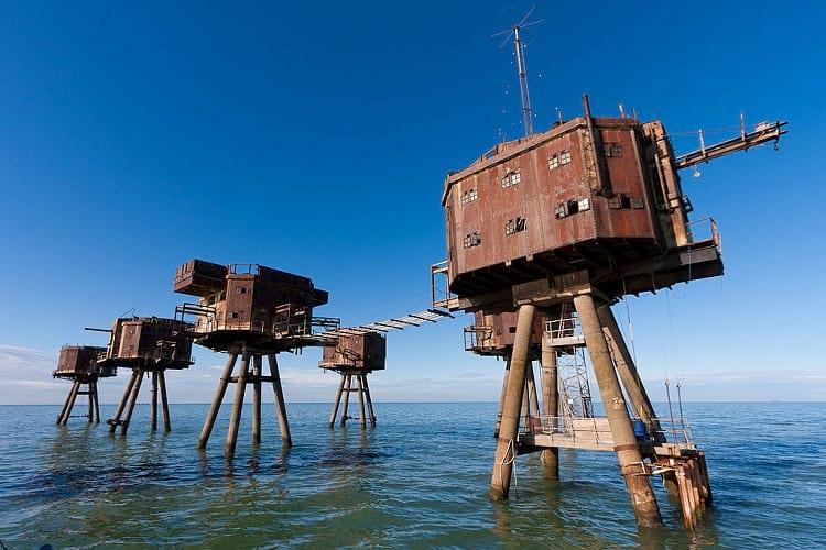 Abandoned Maunsell sea forts