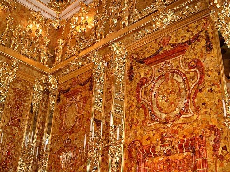 Amber Room close up