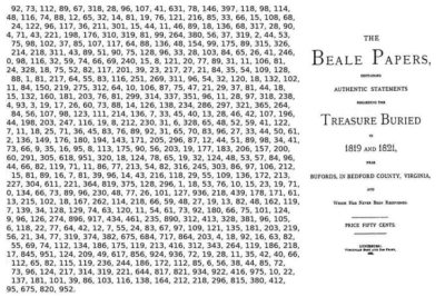 Beale Papers