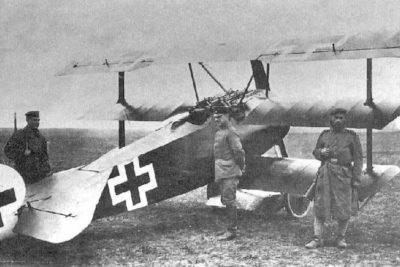 Manfred von Richthofen's combat aircraft.