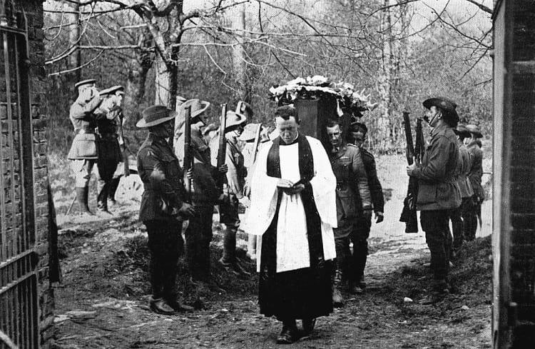 Manfred von Richthofen funeral