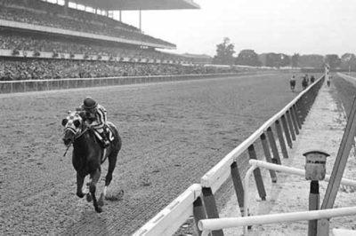 Secretariat at 1973 Belmont Stakes
