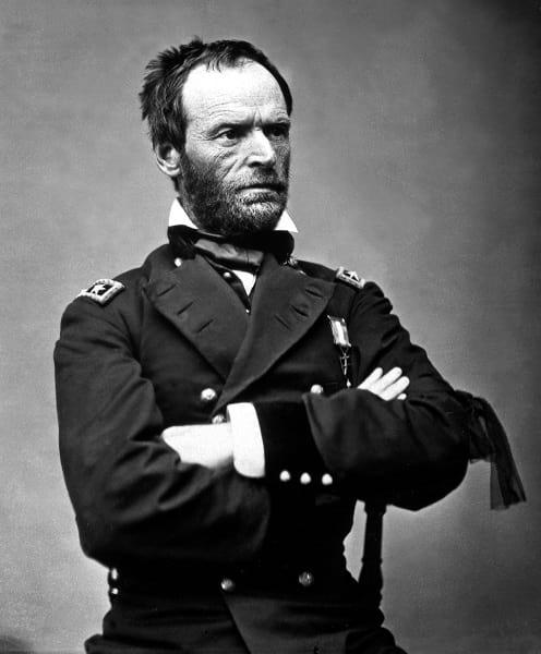 General William Tecumseh Sherman.