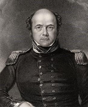 Portrait of Sir John Franklin.