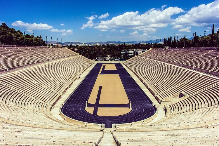 Panathenaic stadium today.