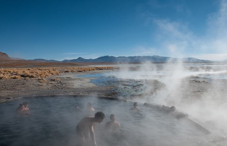 Polques hot springs.