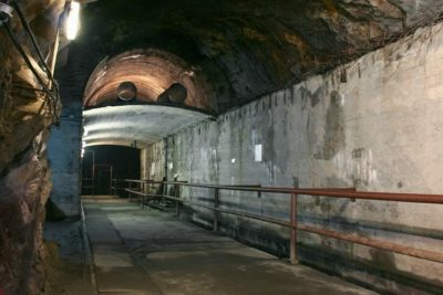 Unfinished tunnel