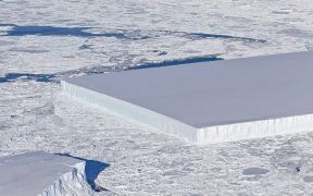 rectangle shaped iceberg