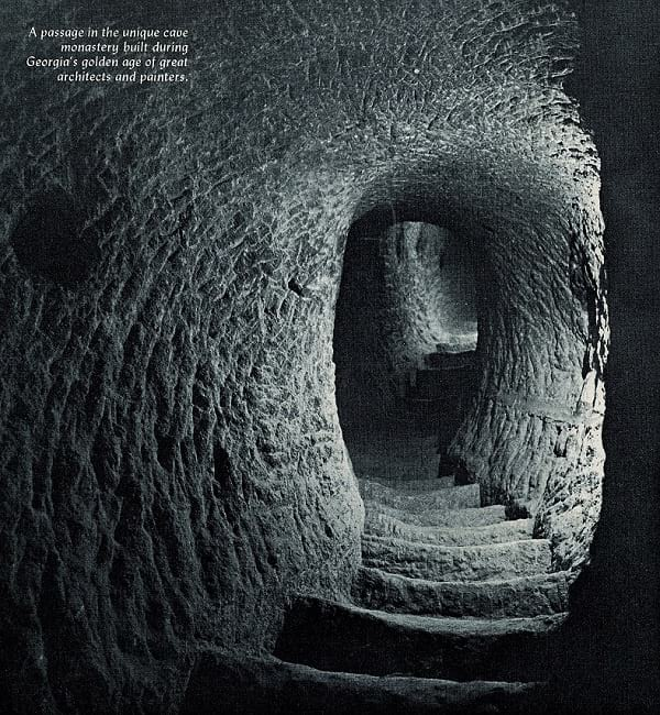 A passage inside the cave.