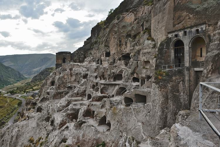 The caves of Vardzia