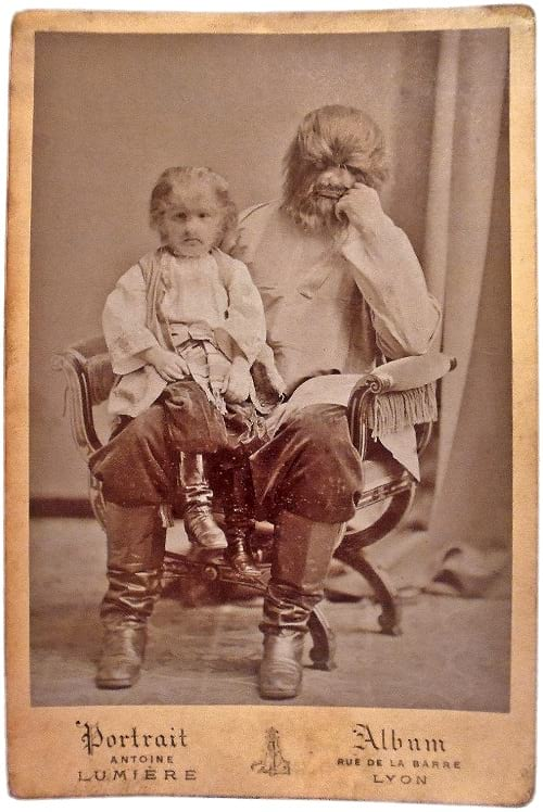 Fedor Jeftichew with his father Adrien Jeftichew.