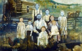The blue family