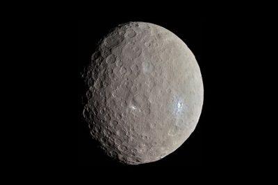 Ceres, dwarf planet.