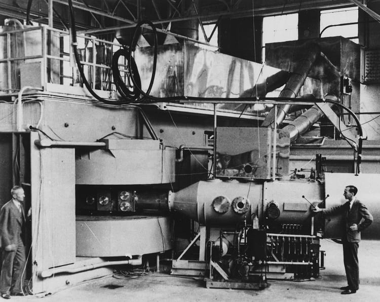 Cyclotron, the world's first particle accelerator.
