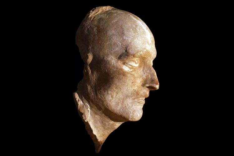 Death mask of Napoleone Bonaparte.