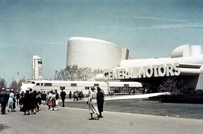 General Motors building at 1939 NY World's fair.