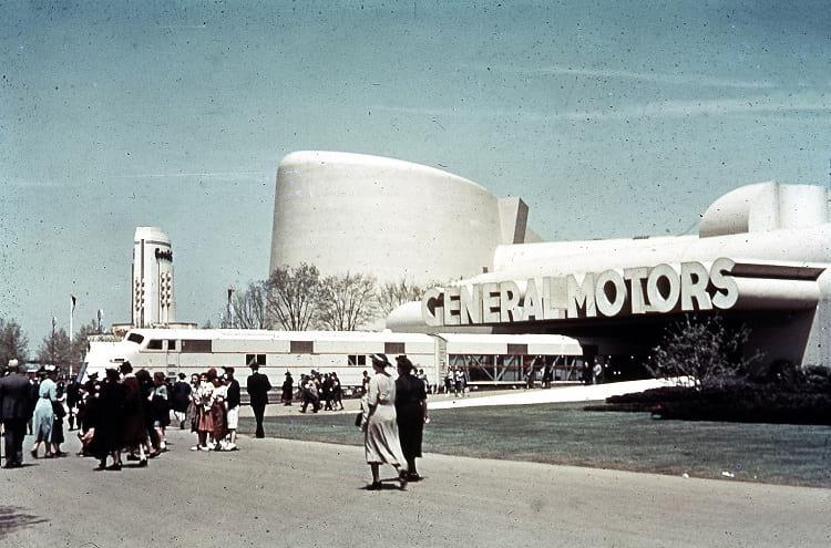 General Motors building at 1939 NY World's fair.