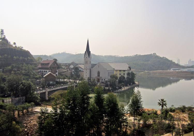 Hallstatt, China.