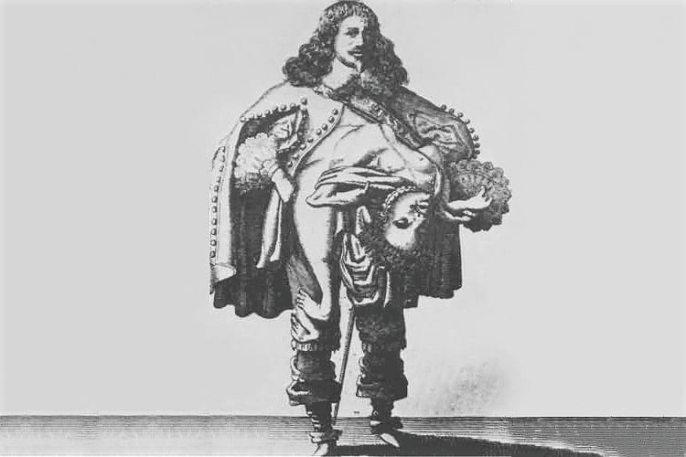 Illustration of Lazarus and Joannes Baptista Colloredo
