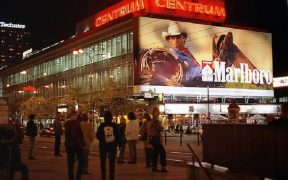 Marlboro Man billboard