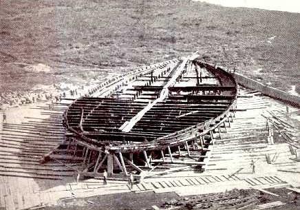 First Nemi Ships