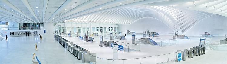 World Trade Center Transportation Hub paranorma