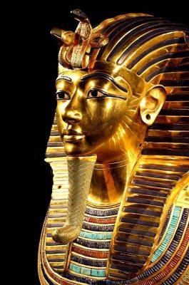 Mask of Tutankhamun.